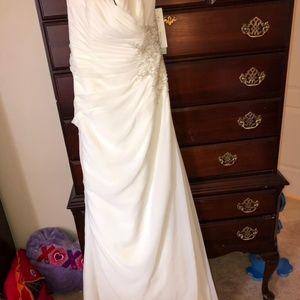 Wedding Dress and Jewelry